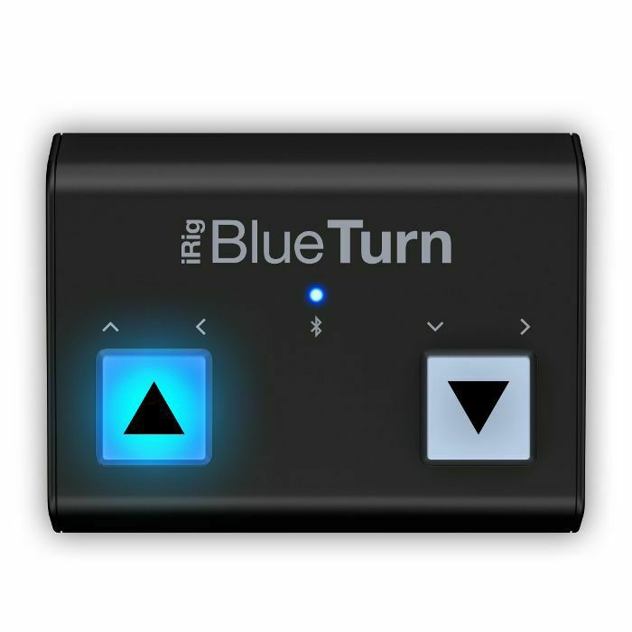 IK MULTIMEDIA - IK Multimedia iRig BlueTurn Bluetooth Page Turner For iOS & Android Devices (B-STOCK)
