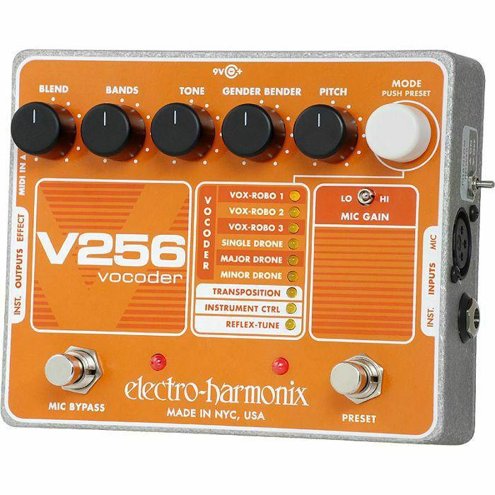 ELECTRO HARMONIX - Electro Harmonix V256 Vocoder Pedal (B-STOCK)