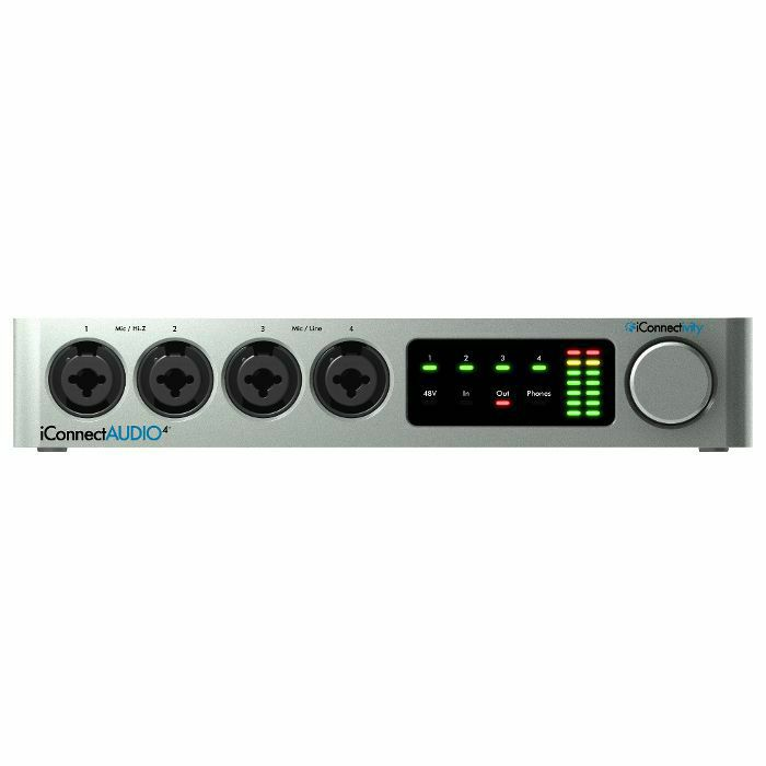 ICONNECTIVITY - Iconnectivity iConnect Audio4+ Lightning Audio & MIDI Interface (B-STOCK)