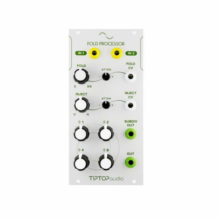 TIPTOP AUDIO - Tiptop Audio Fold Processor Voltage Controlled Wave Multiplier & Sub Octave Generator Module