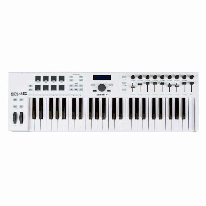 ARTURIA - Arturia Keylab Essential 49 Controller Keyboard With Analog Lab 2 Software