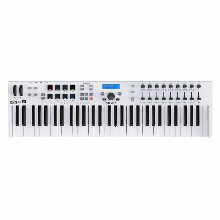 ARTURIA - Arturia Keylab Essential 61 Controller Keyboard With Analog Lab 2 Software ***ART OF KEYS PROMO - INCLUDES FREE SOFTWARE INSTRUMENTS***