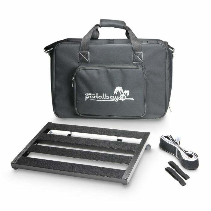PALMER MI - Palmer MI Pedalbay 40 Lightweight Variable Pedalboard With Protective Softcase (45cm)