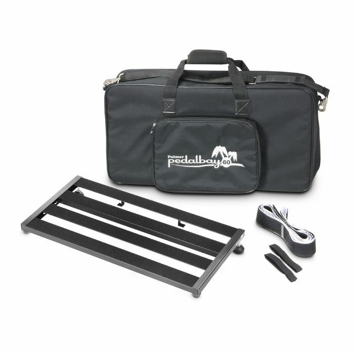 Palmer PEDALBAY 60 - Lightweight variable Pedalboard with Protective Softcase 60cm
