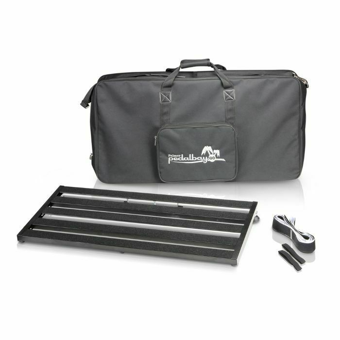 PALMER MI - Palmer MI Pedalbay 80 Lightweight Variable Pedalboard With Protective Softcase (80cm)