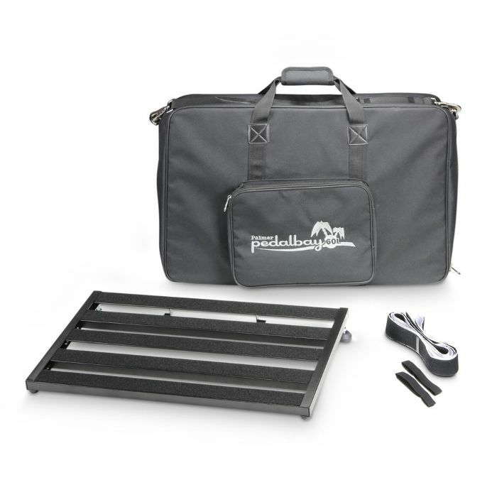 PALMER MI - Palmer MI Pedalbay 60L Lightweight Variable Pedalboard With Protective Softcase (60cm)