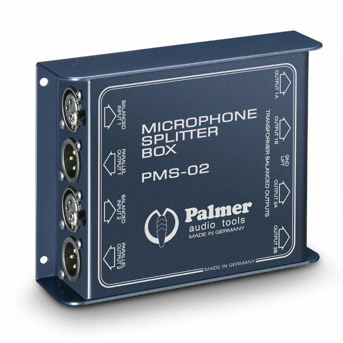 PALMER PRO - Palmer Pro PMS02 Microphone Splitter Box