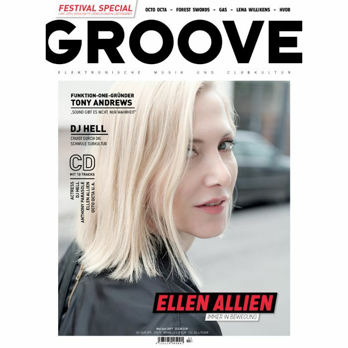 GROOVE MAGAZINE - Groove Magazine: Issue 166 May/June 2017 (with free 10 track compilation CD, German language)
