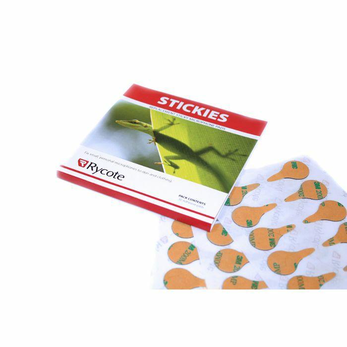 RYCOTE - Rycote Stickies Lavalier Mic Adhesive Mounts (30 pieces)
