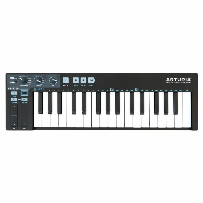 ARTURIA - Arturia KeyStep Portable USB MIDI Keyboard Controller & Sequencer (black edition)