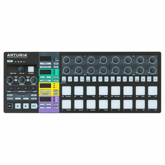 ARTURIA - Arturia BeatStep Pro Controller & Performance Sequencer (black edition)
