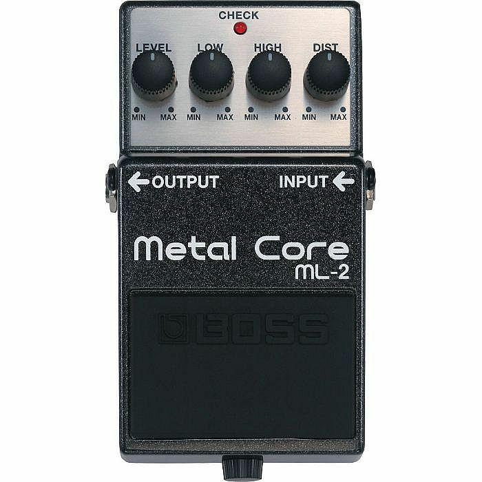 BOSS - Boss ML2 Metal Core Extreme Metal Distorion Pedal (B-STOCK)