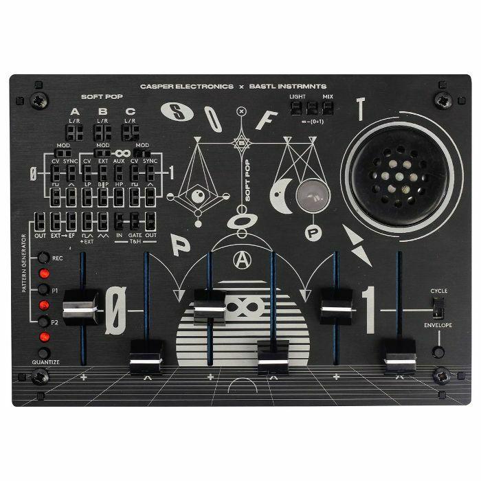 CASPER ELECTRONICS/BASTL INSTRUMENTS - Casper Electronics/Bastl Instruments SoftPop Semi Modular Analogue Light & Sound Synthesizer
