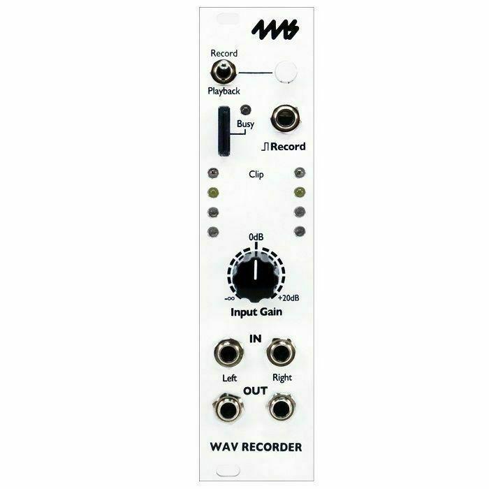 4MS - 4ms Wav Recorder Module