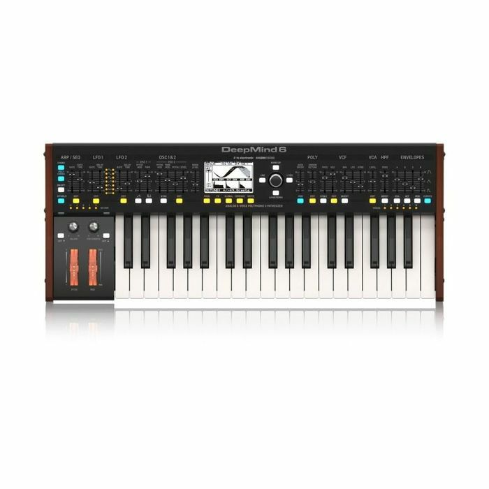 BEHRINGER - Behringer DeepMind 6 Keyboard Analogue Synthesizer