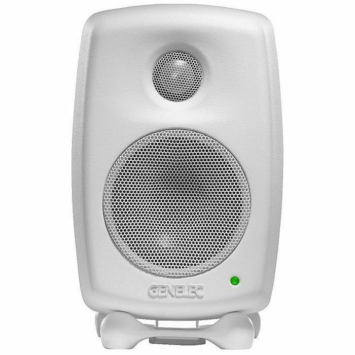 GENELEC - Genelec 8010 AWM Biamplified Active Studio Monitor (single, white) (B-STOCK)