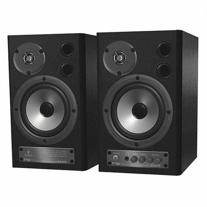 BEHRINGER - Behringer MS40 Digital Monitor Speakers (black, pair) (B-STOCK)