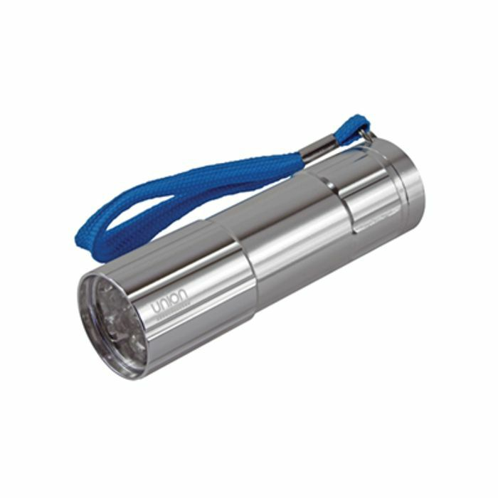 UNION - Union 9 LED Aluminium Barrel Torch (silver)