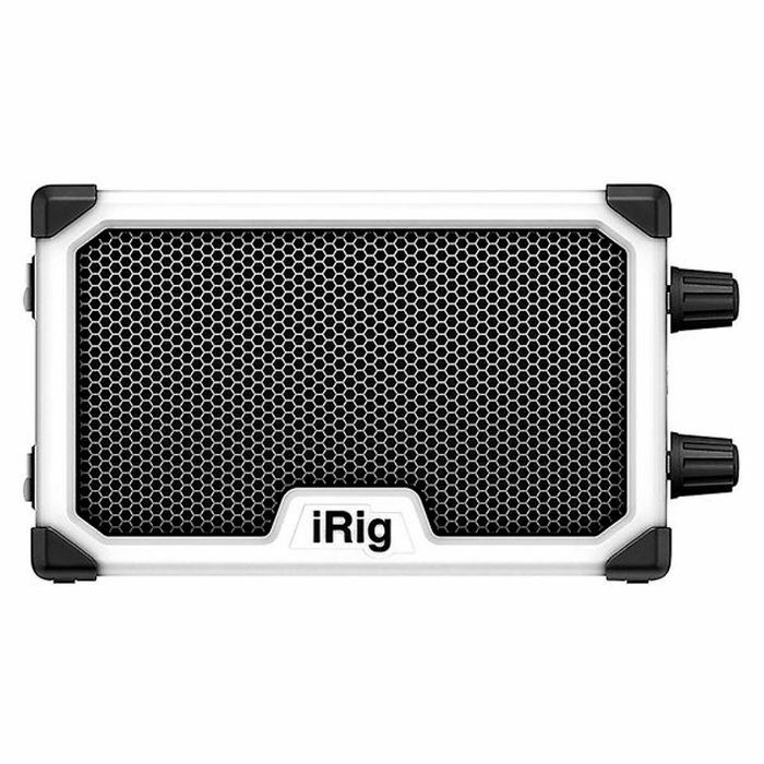 IK MULTIMEDIA - IK Multimedia iRig Nano Amp Battery Powered Micro Amp & Interface For Mobile Devices (white)