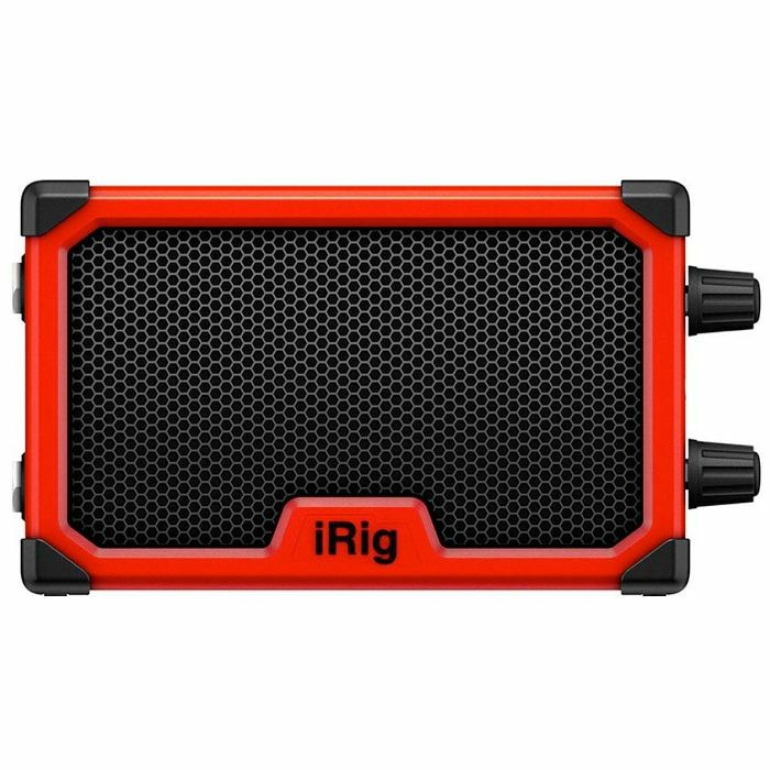 IK MULTIMEDIA - IK Multimedia iRig Nano Amp Battery Powered Micro Amp & Interface For Mobile Devices (red)