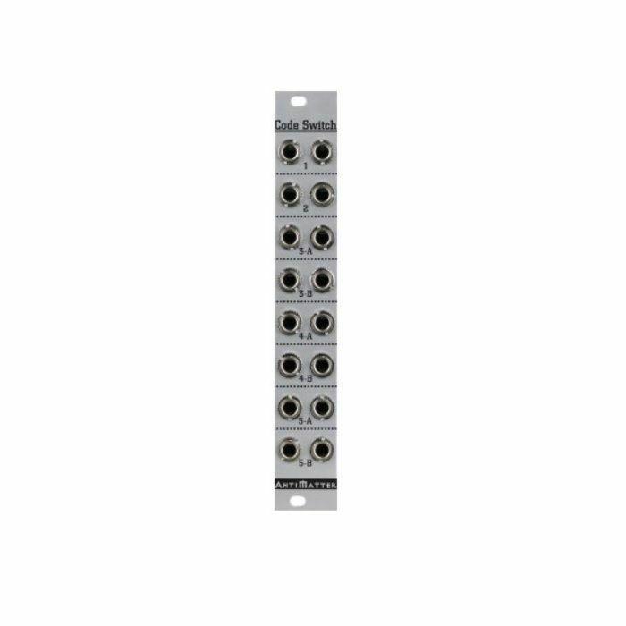 ANTIMATTER AUDIO - Antimatter Audio Launch Codes 8x Switch & Mult Expander Module
