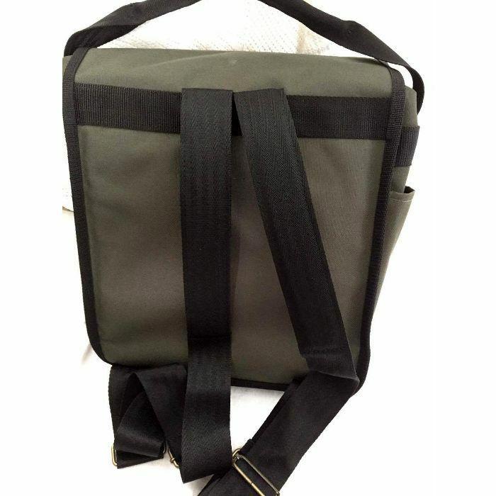 Mukatsuku Mukatsuku Bespoke Olive Green 12 Inch Backpack