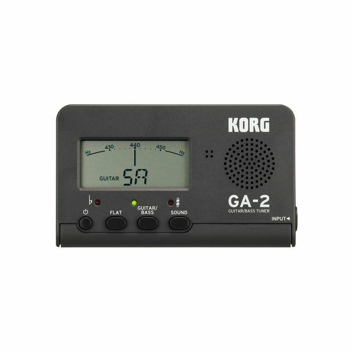 KORG - Korg GA2 Guitar & Bass Tuner (matte grey)