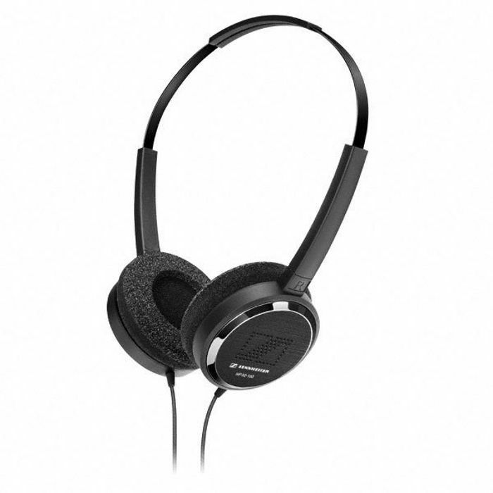 SENNHEISER - Sennheiser HP02-100 Lightweight On Ear Headphones