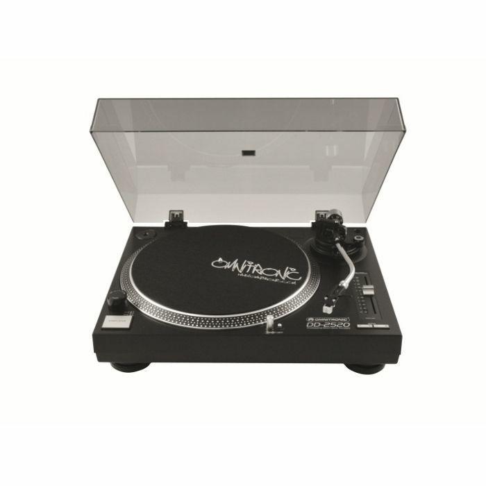 OMNITRONIC - Omnitronic DD2520 Direct Drive USB DJ Turntable (black)