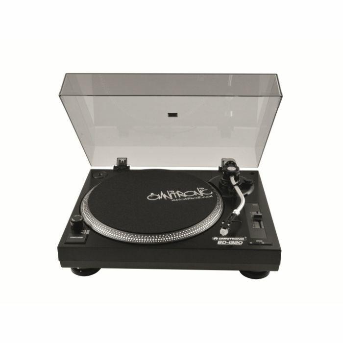 OMNITRONIC - Omnitronic BD1320 Belt Drive DJ Turntable (black)