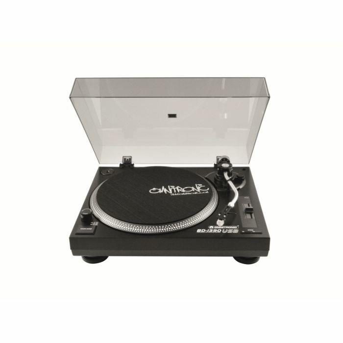 OMNITRONIC - Omnitronic BD1390 Belt Drive USB DJ Turntable (black)