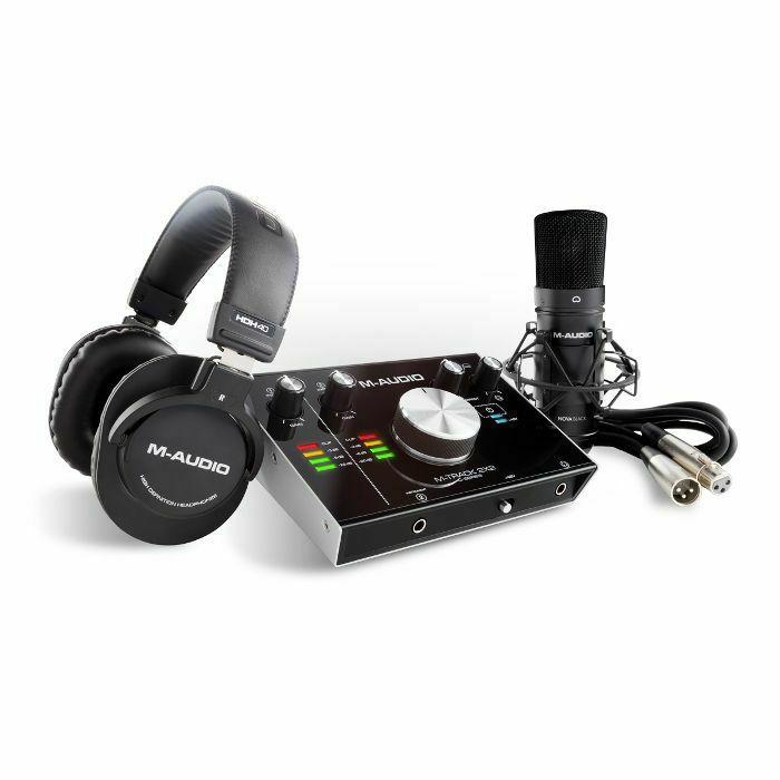 M AUDIO - M Audio M Track 2X2 Vocal Studio Pro Complete Recording Package