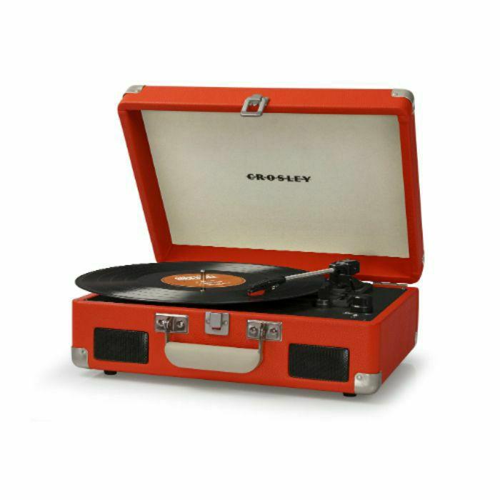 CROSLEY - Crosley CR8005C Cruiser II Battery Powered Turntable (orange)