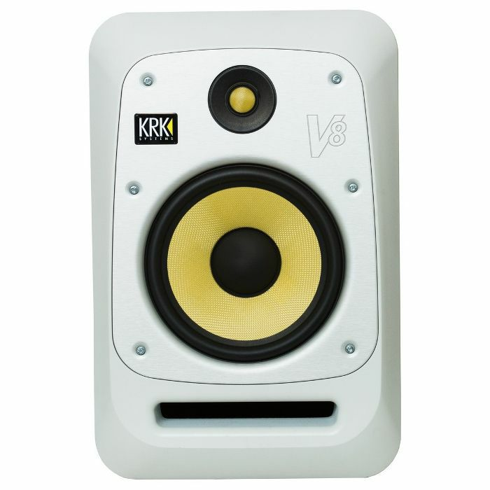 KRK - KRK V8S4 Active Studio Monitor (single, white noise)