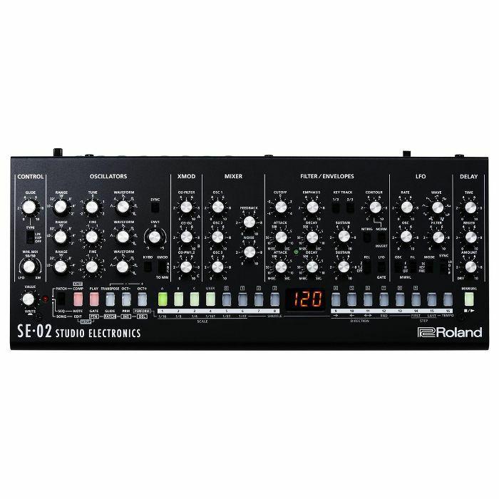 ROLAND/STUDIO ELECTRONICS - Roland/Studio Electronics SE02 Analog Synthesizer