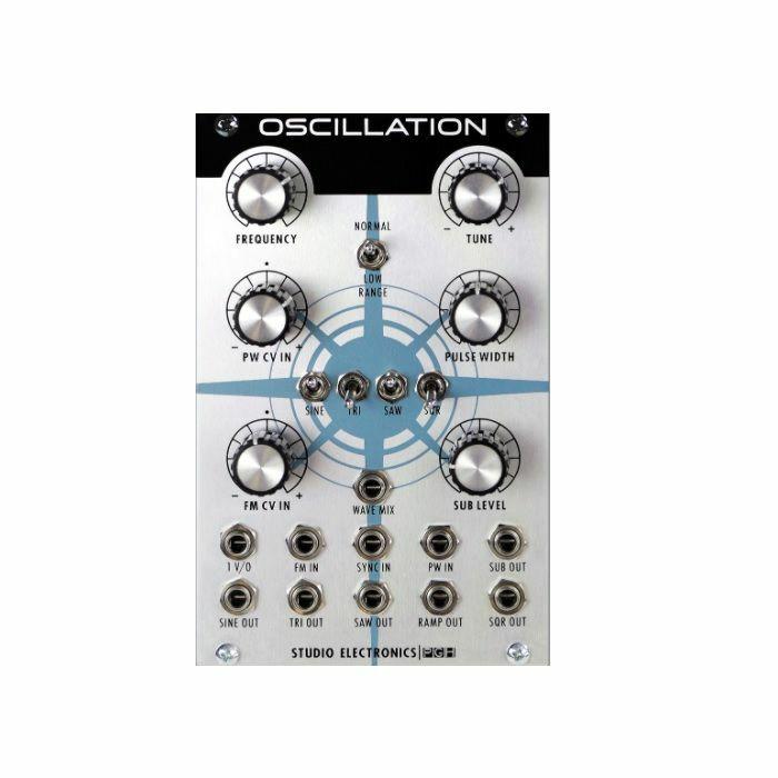 STUDIO ELECTRONICS/PITTSBURGH MODULAR - Studio Electronics Boomstar Modular Oscillation Module