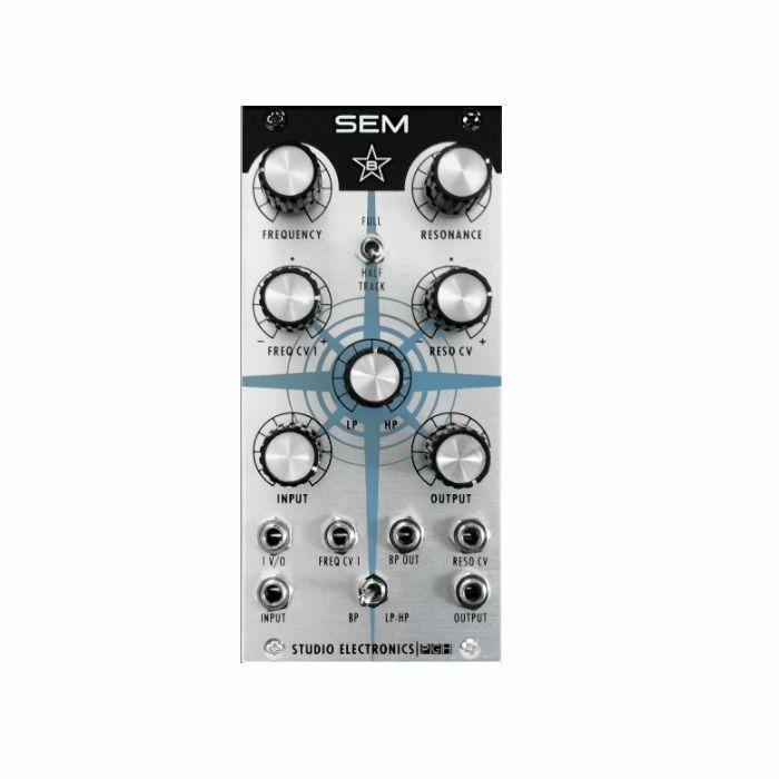 STUDIO ELECTRONICS/PITTSBURGH MODULAR - Studio Electronics Boomstar Modular SEM Filter Module