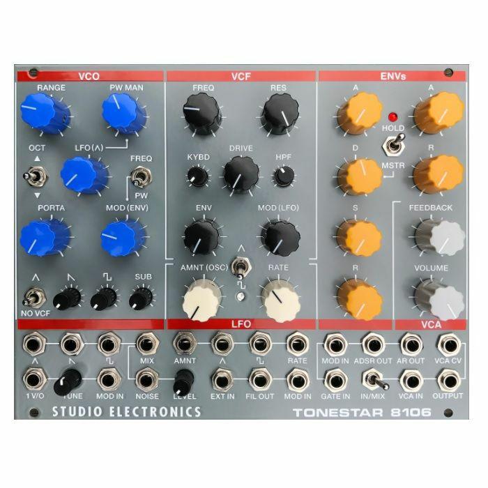 STUDIO ELECTRONICS - Studio Electronics Tonestar 8106 Synth Voice Module (black faceplate)