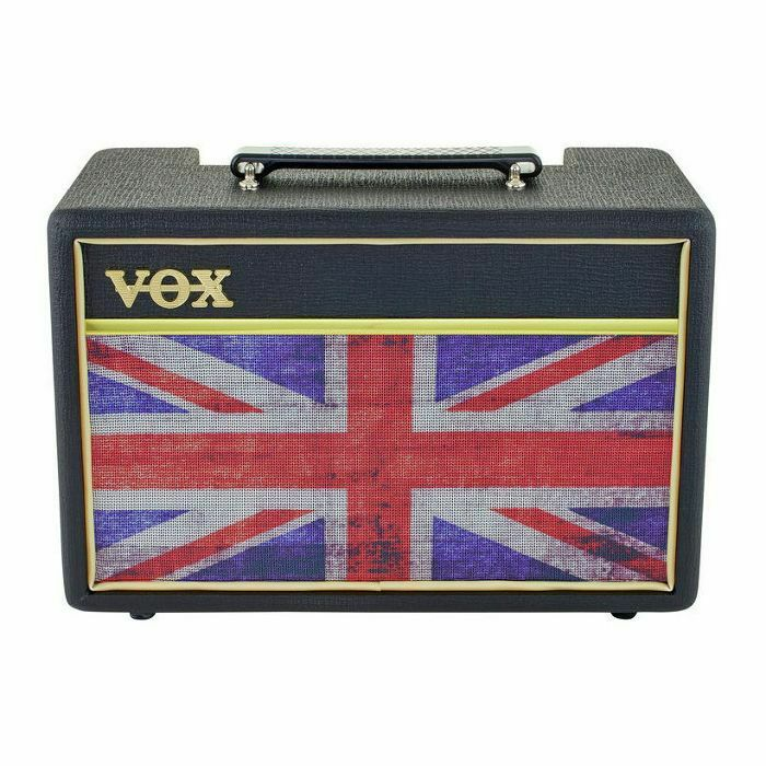 vox vox pathfinder 10 union jack bk combo solid state guitar amp b stock vinyl at juno records. Black Bedroom Furniture Sets. Home Design Ideas
