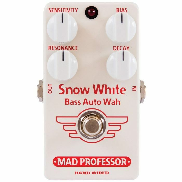 MAD PROFESSOR - Mad Professor Snow White Bass Auto Wah Effects Pedal