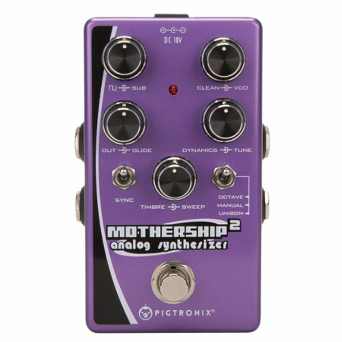 PIGTRONIX - Pigtronix Mothership 2 Analog Synthesizer Pedal