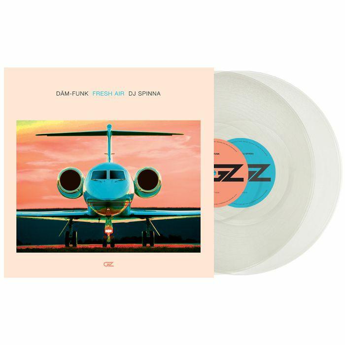DAM FUNK/DJ SPINNA/SERATO - Serato Fresh Air Control Vinyl (2 x 12 inch, clear vinyl)
