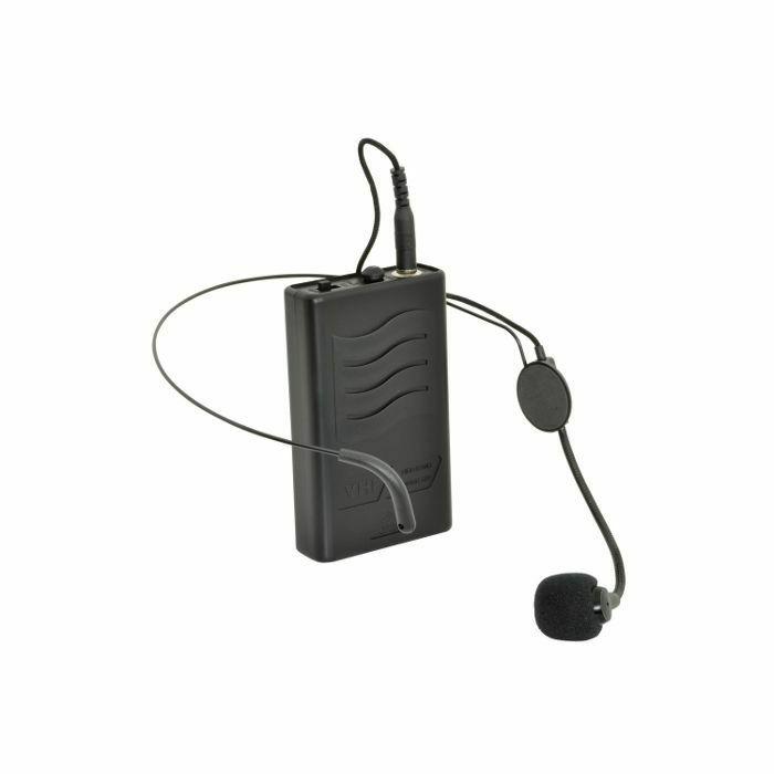 QTX - QTX QRNM1 VHF Neckband Mic & Beltpack For QR Series PA Units (174.1MHz) (B-STOCK)