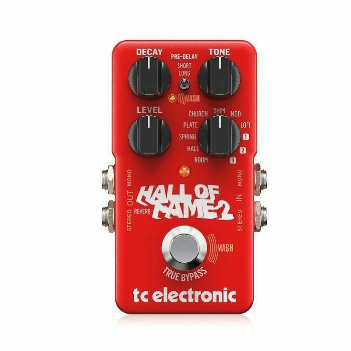 TC ELECTRONIC - TC Electronic Hall of Fame 2 Reverb Pedal
