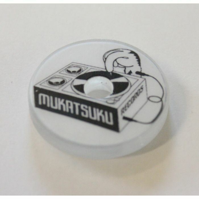 MUKATSUKU - Mukatsuku Resin Logo 45 Adapter (black & white design) *Juno Exclusive*