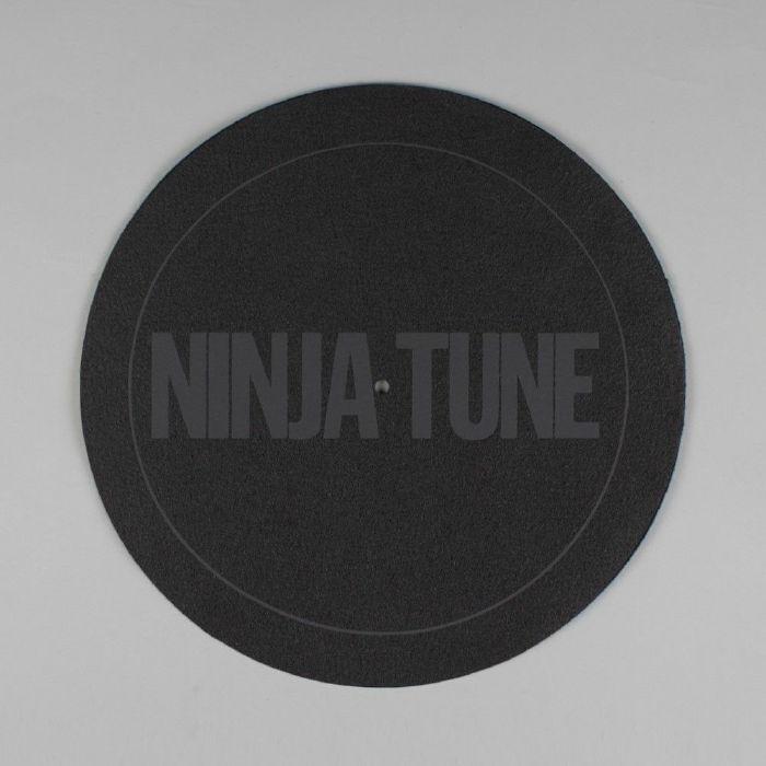 NINJA TUNE - Ninja Tune Logo Slipmat (single, black with black logo)