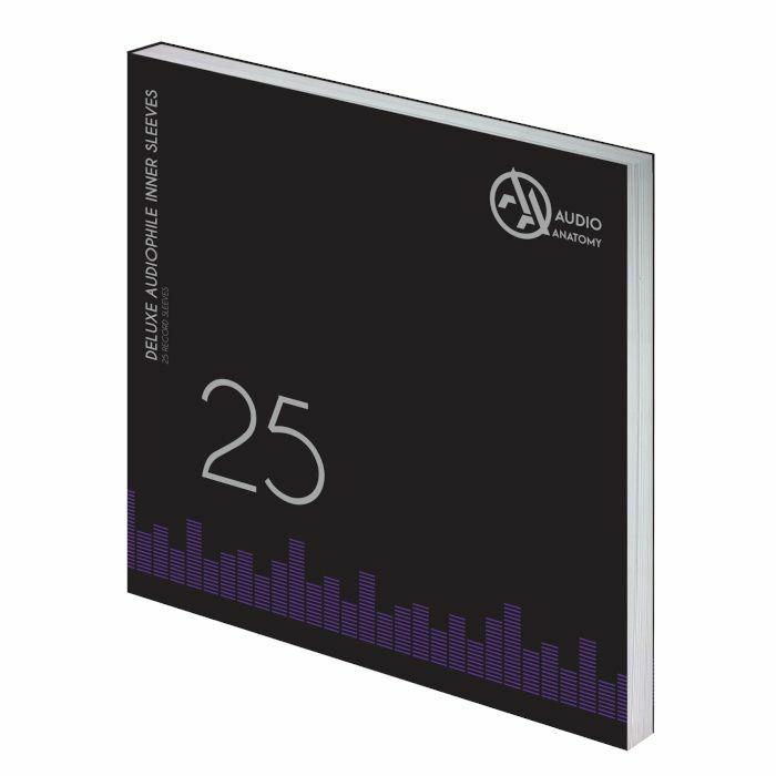 AUDIO ANATOMY - Audio Anatomy Deluxe Anti-Static Inner Sleeves For Vinyl Records (Cream) (Pack Of 25)