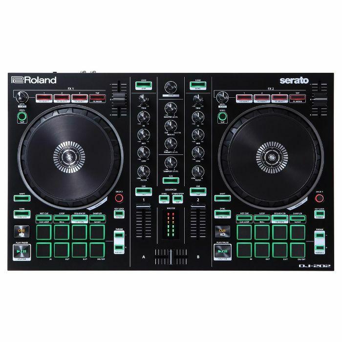 ROLAND - Roland DJ202 Serato DJ Intro Controller