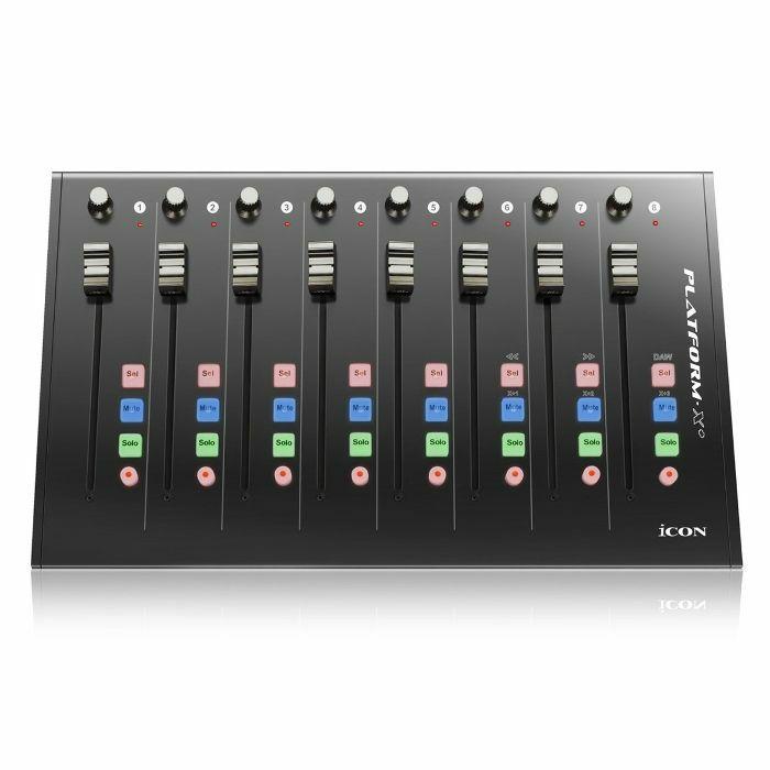 ICON - Icon Platform X+ Fader Expander MIDI Controller