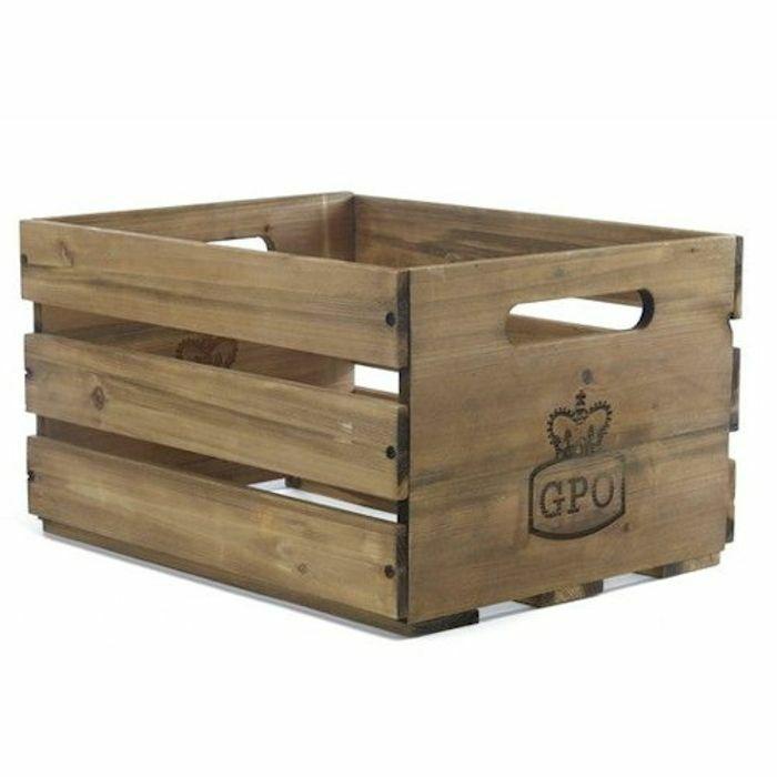 GPO - GPO Cassa Vinyl Storage Crate